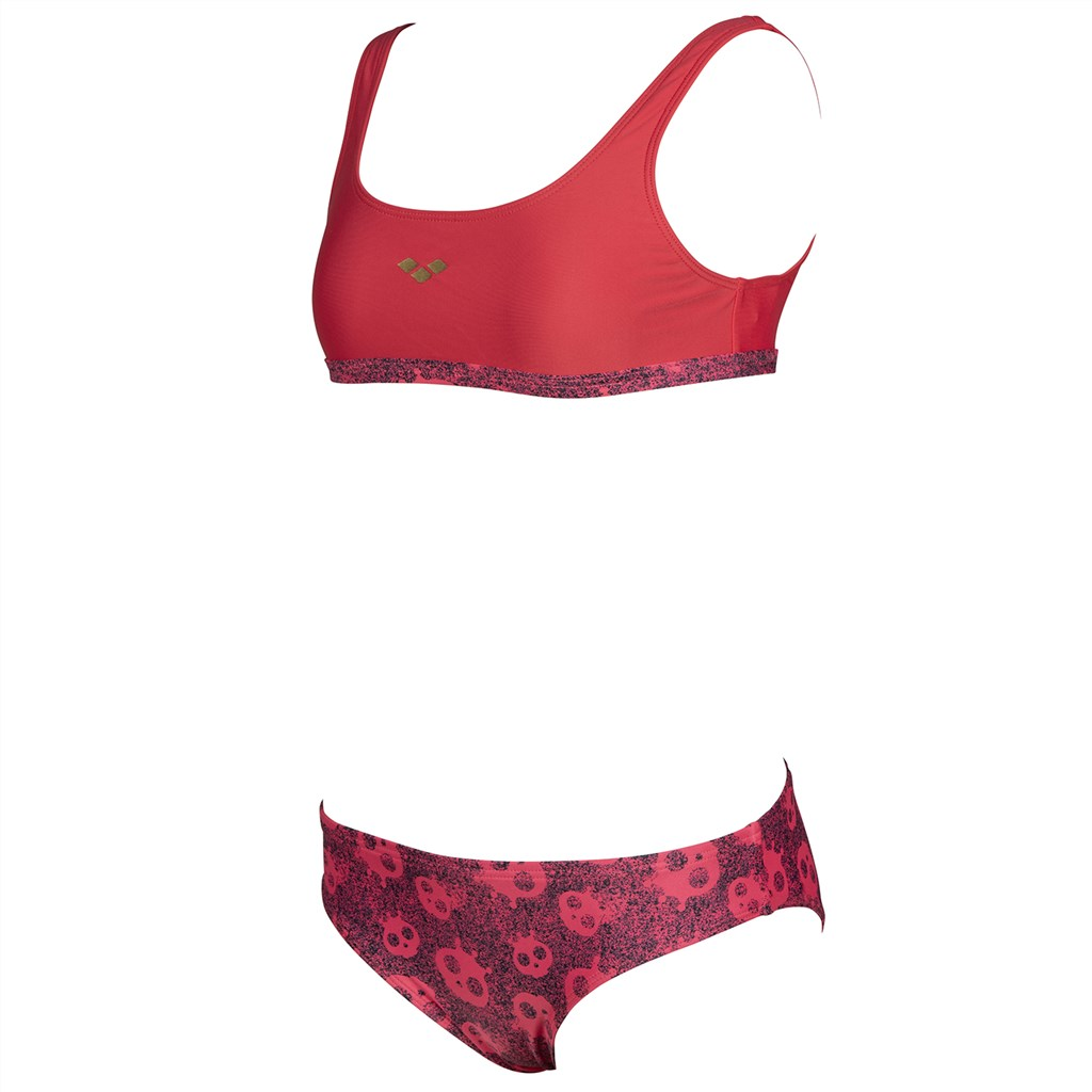 Arena - G Meryl Jr Top Two Pieces - hibiscus/hibiscus multi