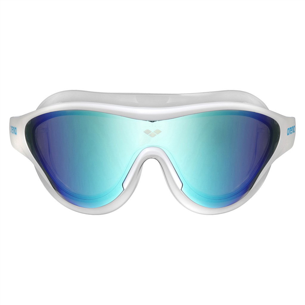 Arena - The One Mask Mirror Goggle - blue/white/black