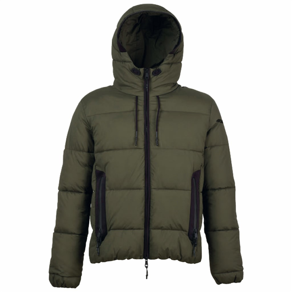 Arena - M Padded Hooded Jkt - army