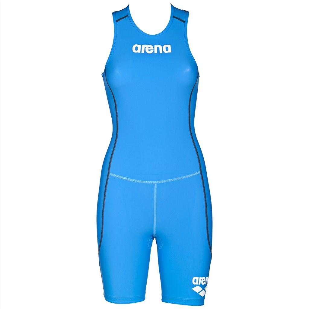 Arena - W Tri Suit ST Rear Zip - brilliant blue