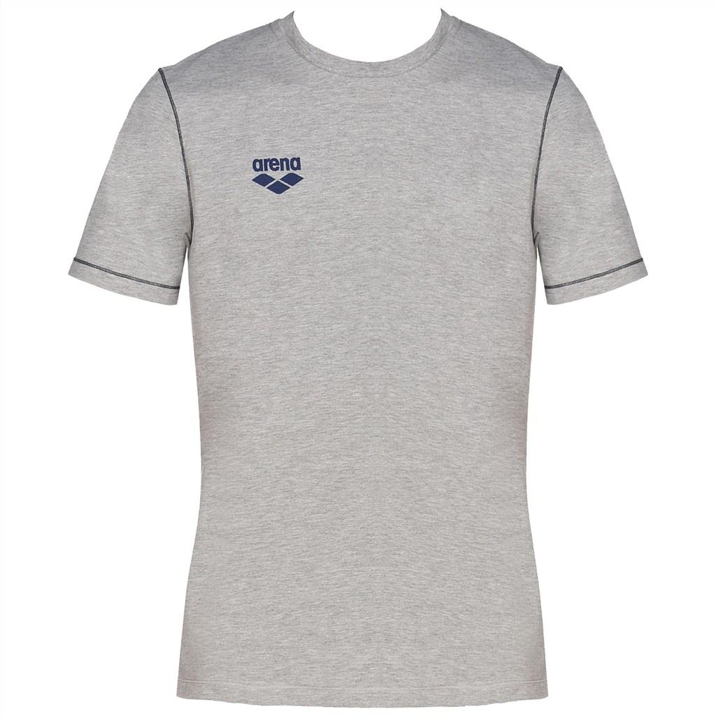 Arena - Tl S/S Tee - medium grey melange