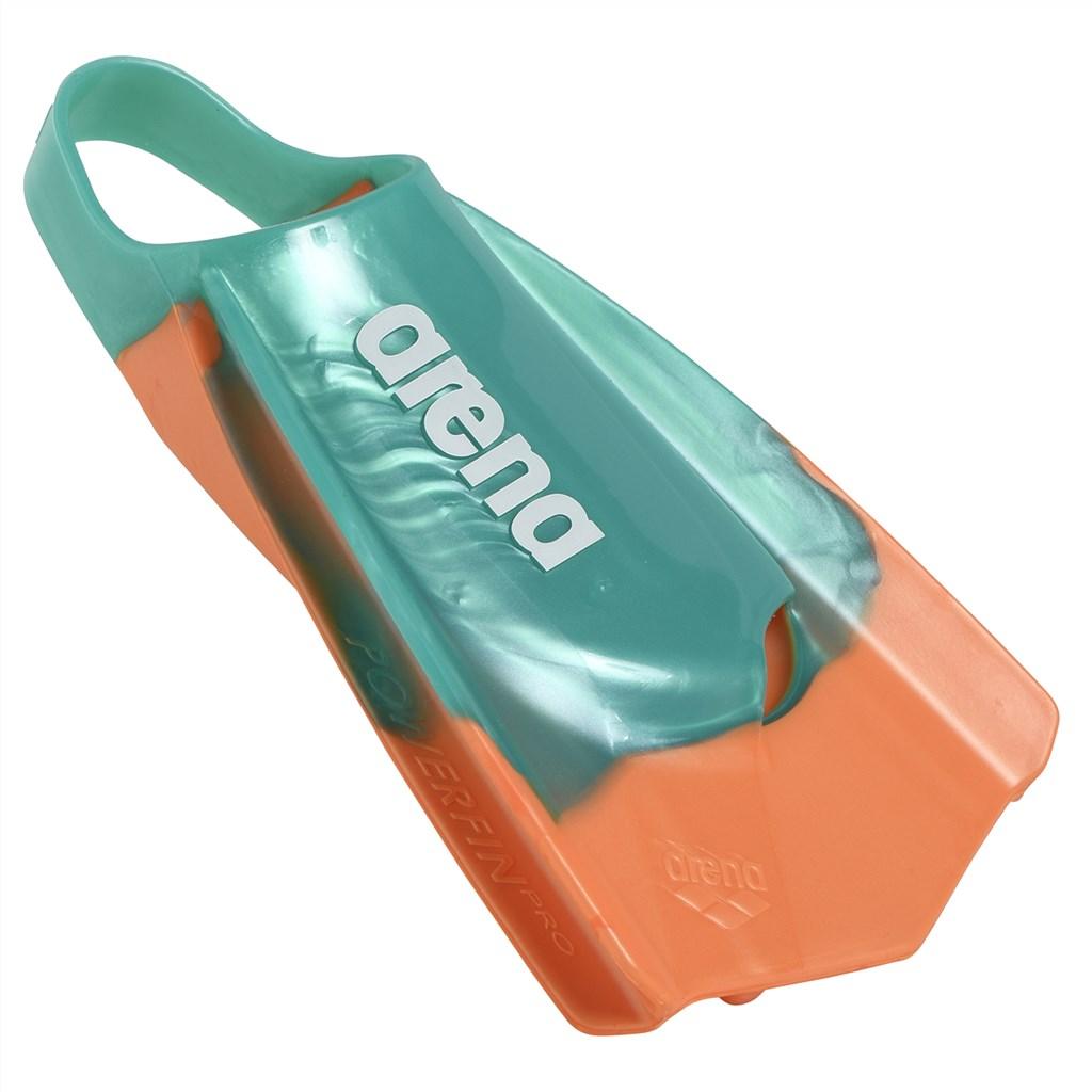 Arena - Powerfin Pro Multi - aqua orange