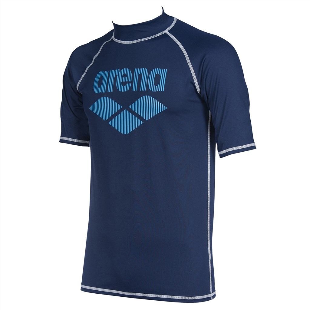 Arena - M Rash Vest S/S - navy