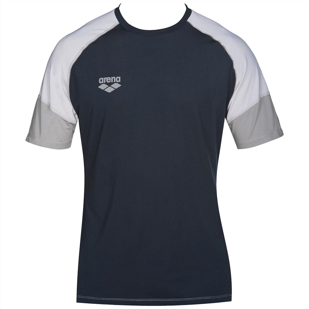Arena - Tl Tech S/S Raglan Tee - navy/grey/ice