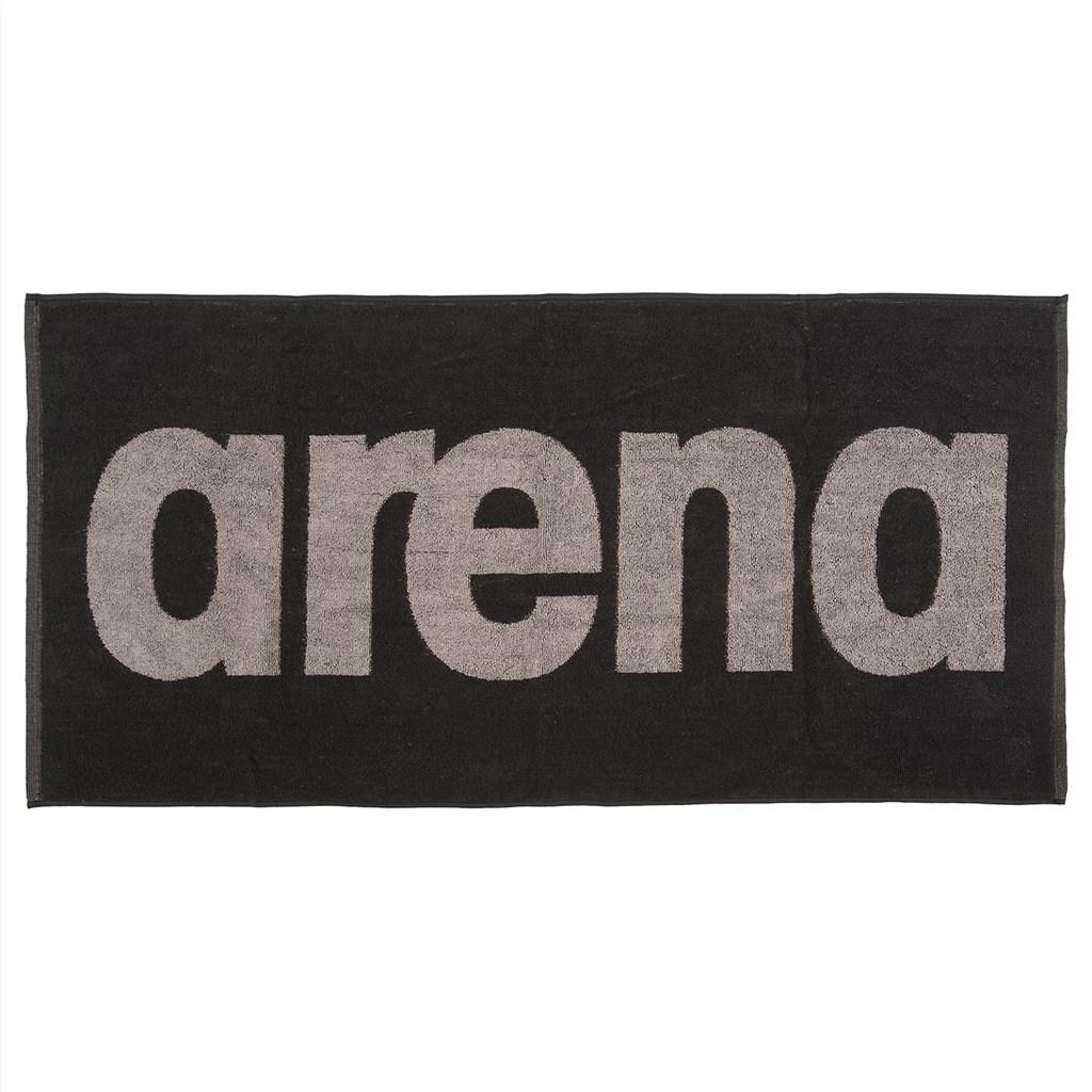 Arena - Gym Soft Towel - black/grey