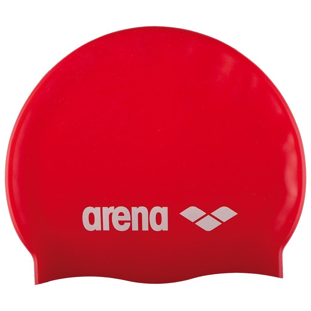 Arena - Classic Silicone Cap - red/white