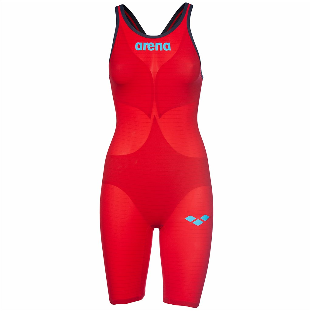 Arena - W Pwskin Carbon Air2 Fbslob - red