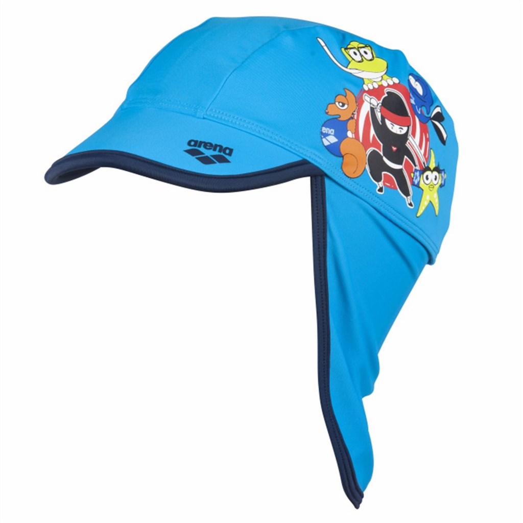 Arena - Kids Awt Cap - turquoise/navy